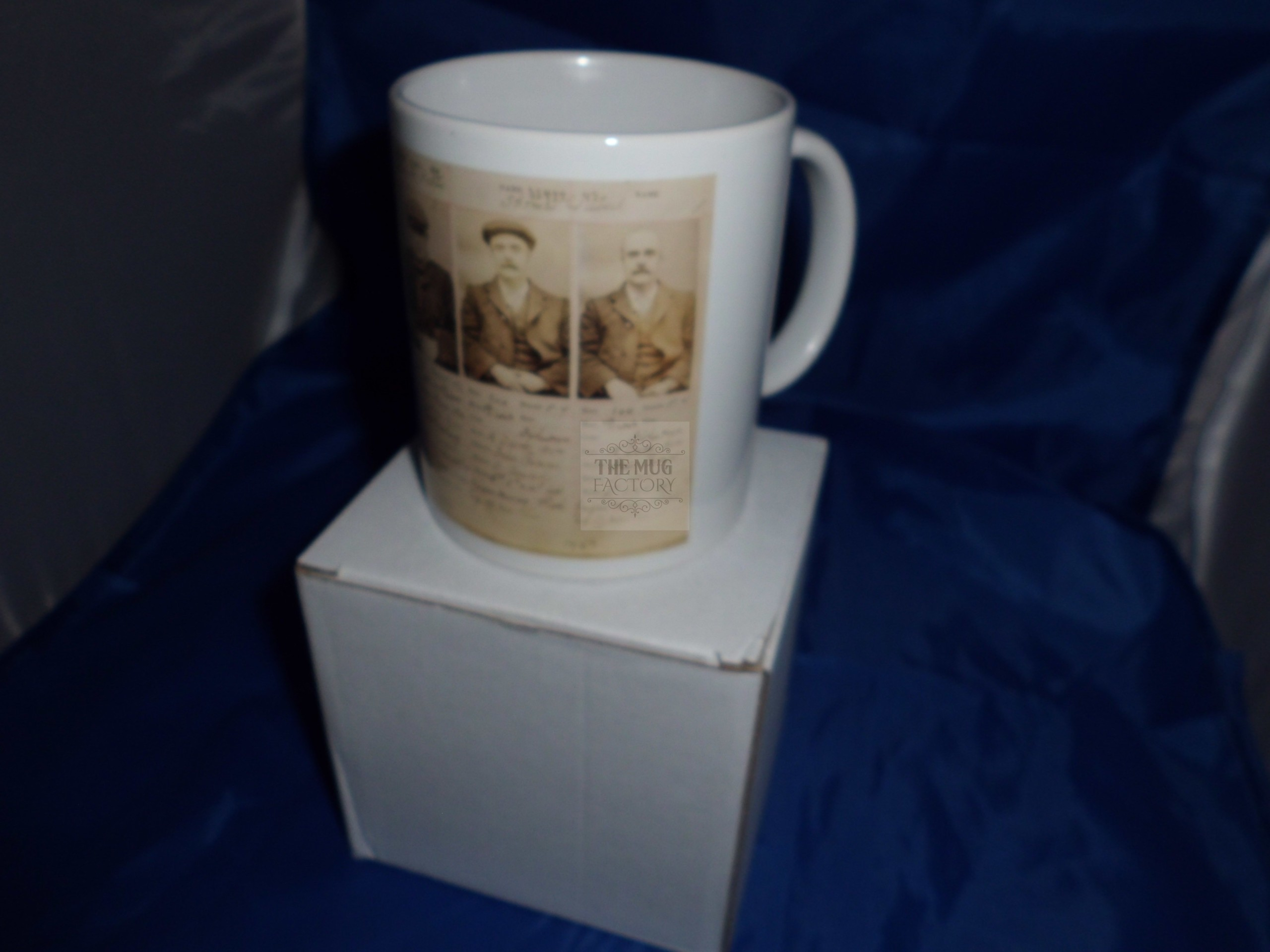 Peaky Blinders Original gang members Historical printed mug