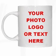 Your photo you Txt here personalised mug