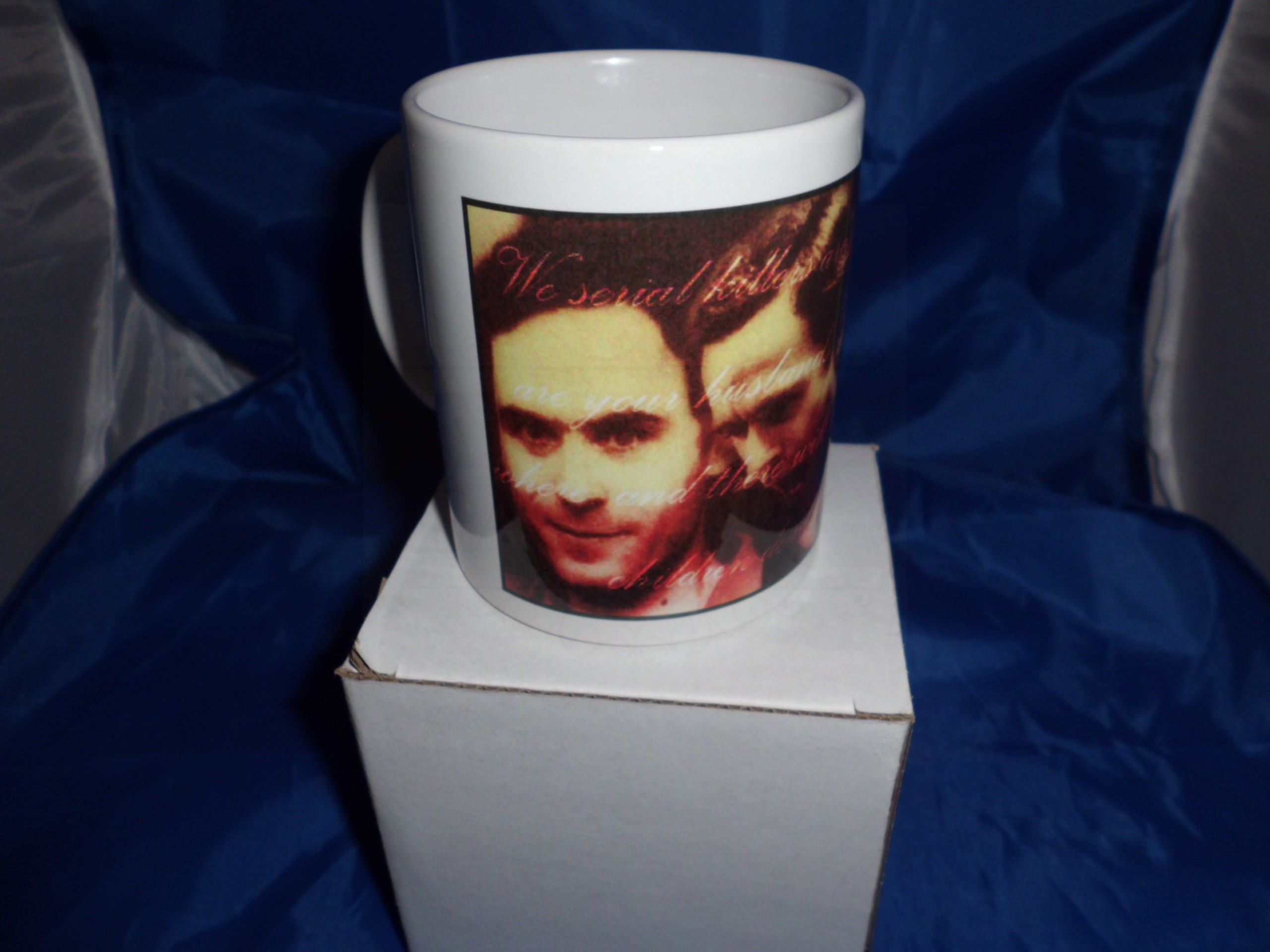 Ted Bundy 2nd edition personalised mug