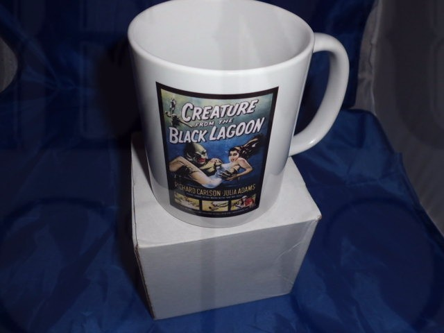 Creature of the black lagoon personalised mug