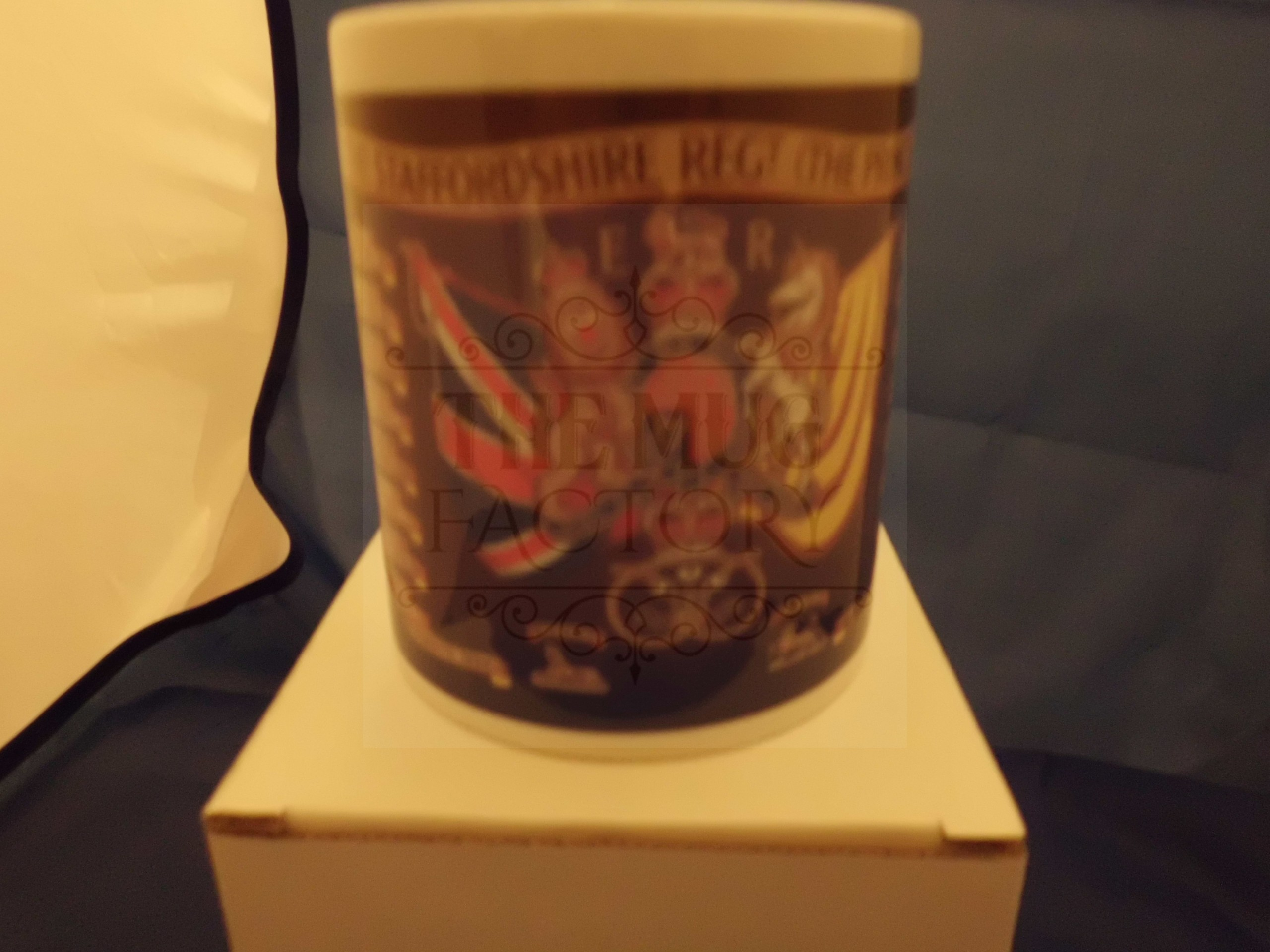 1st Battalion Staffordshire regiment military mug