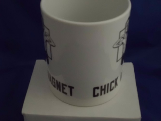 Personalised Chick Magnet mug