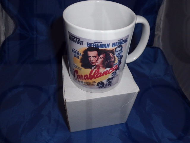 Casablanca movie poster personalised mug