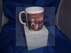 British by birth english by the grace of god military mug