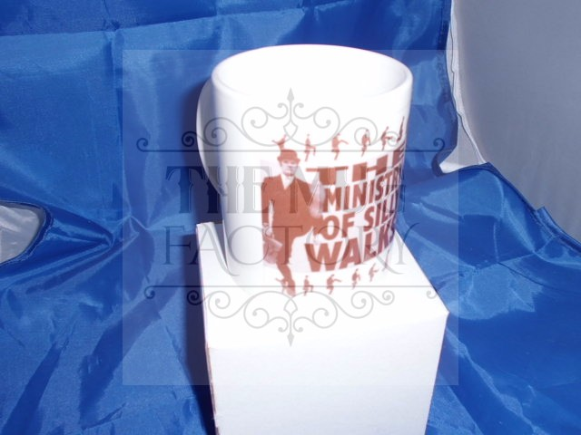 Ministry of Silly Walks humorous mug