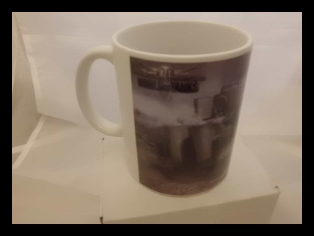 World of tanks deluxe tiger tank printed mug
