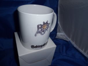 WW2 German Gebirgsjager military mug