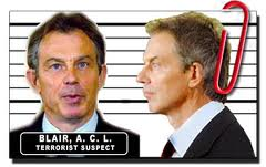 Tony Blair Mugshot printed mug