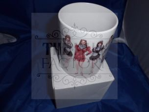 Manga Pin up risque mug