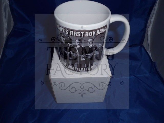 Germany's first ever boy band the VW Beatles military mug