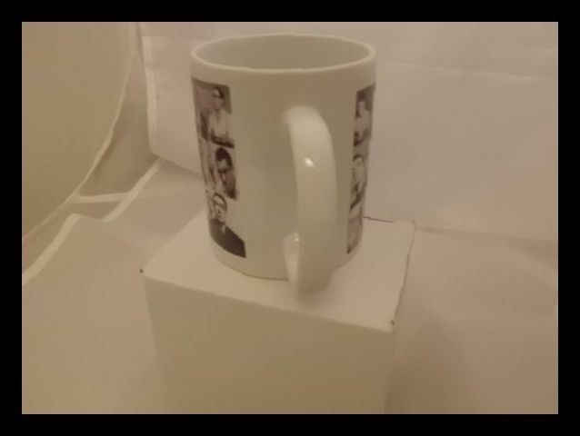 Kray twins montage deluxe mug