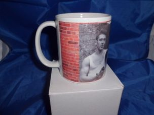 Kray Twins and Mother printed mug