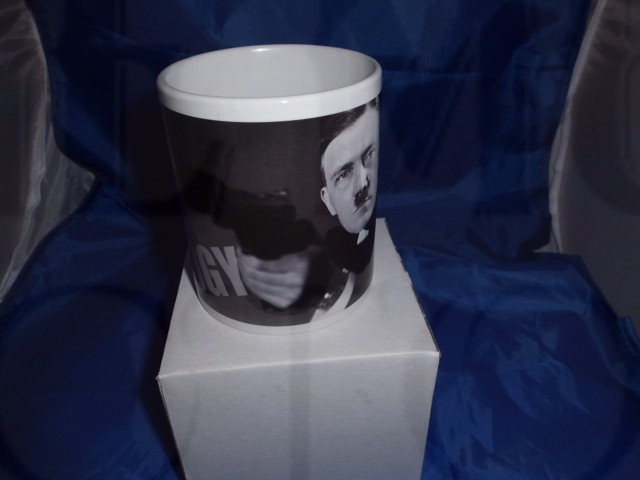 Edgy Hitler as 007 military mug