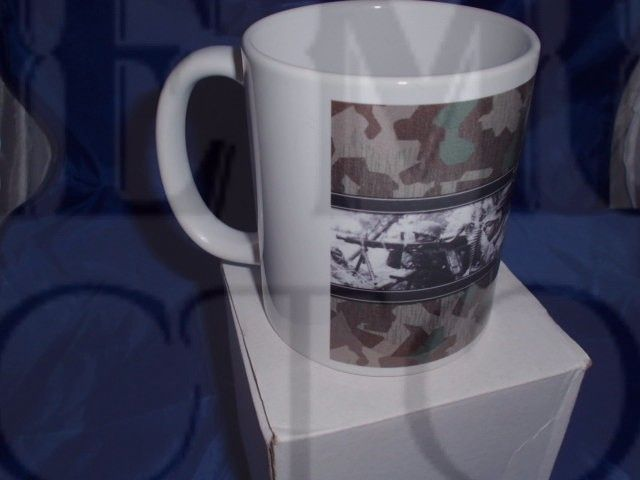 Fallschirmjager personalised military mug