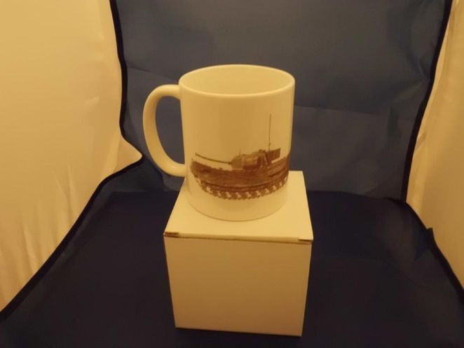 Churchill Flamethrower Tank military Mug