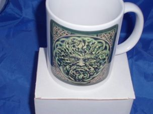 The Green Man personalised Mug