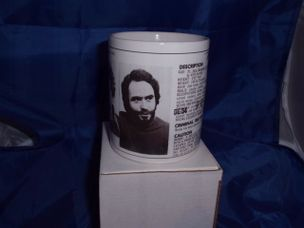 Ted Bundy serial killer personalised mug