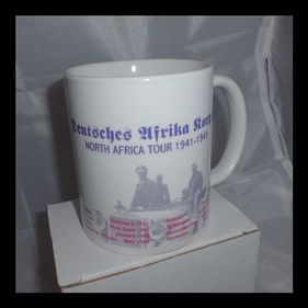 North Africa Tour Rommel's Africa Korp's Printed mug