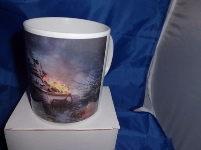 Fury world of tanks military mug