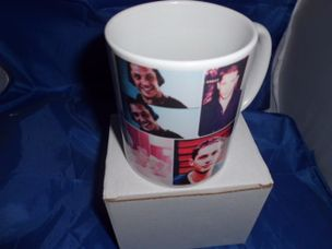 Tom Hardy Montage style personalised mug
