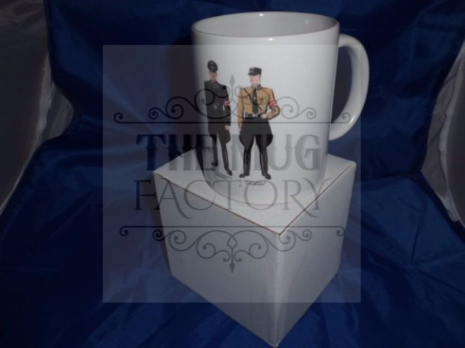Hugo Boss 2nd Editon military mug