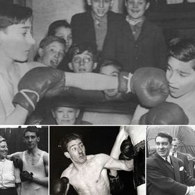 Ron and Reggie Kray Boxing
