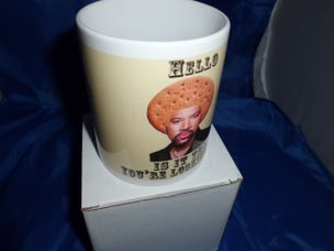 Lionel Rich Tea is it tea your looking for humorous mug