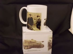 Michael Whittman and Bobby Woll printed mug
