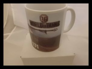 World of tanks TIGER 131 printed mug
