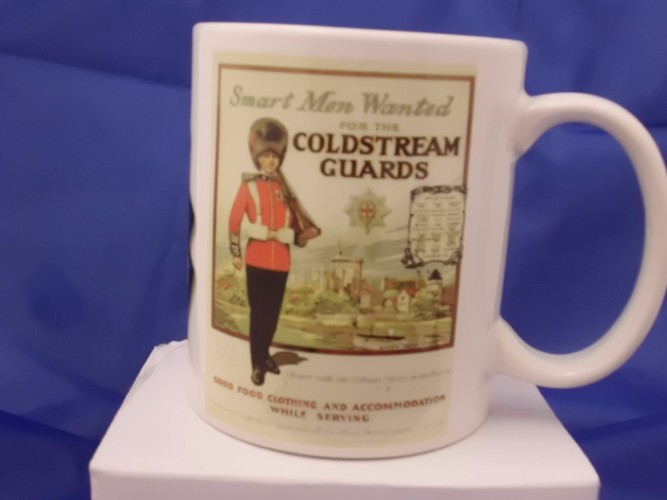 Coldstream guards mug