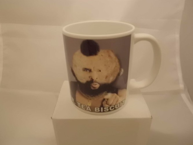 MR.Tea Biscuit printed mug