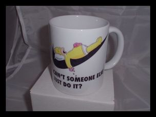Can't someone else just do it? funny printed mug