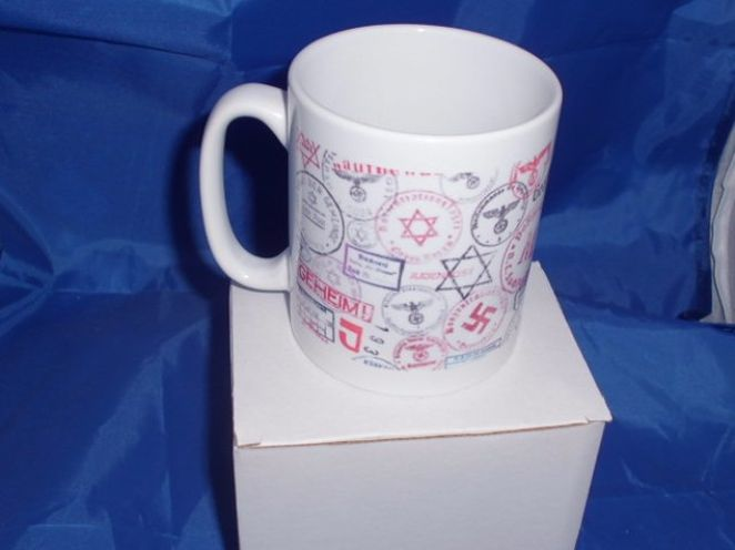 World war two German Stamp mug