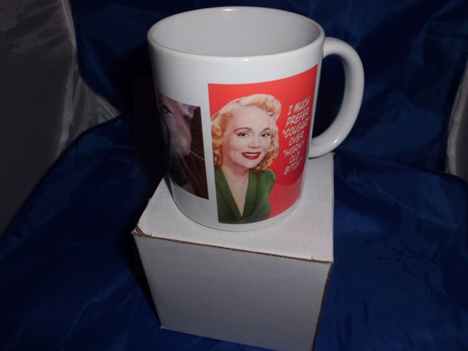 I Much prefer Cougar humorous Mug