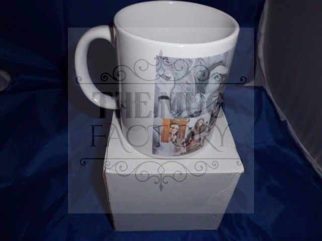 Spencer reid criminal minds montage personalised mug