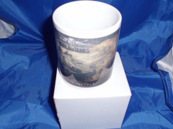 World of Tanks Hetzer military mug