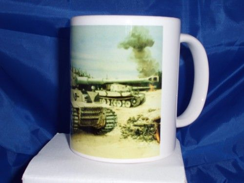 Tiger one Russia Printed mug
