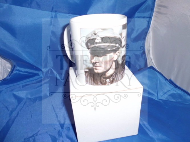 Joachim Peiper Then and Now military mug