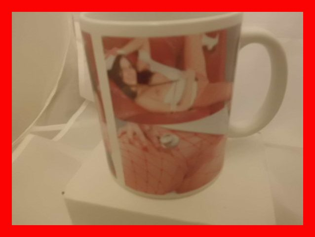 Risque Nurse Porn 18 and over only start printed mug