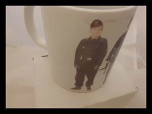World war two German uniform printed mug